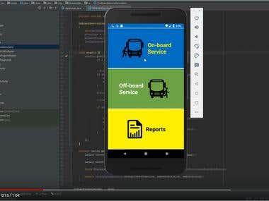 Bus Driver Assist App