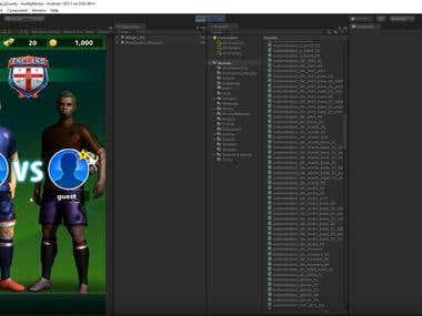 Unity Game like miniclip FootballStrike