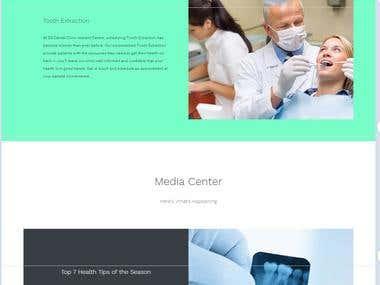 SS Dentals Website