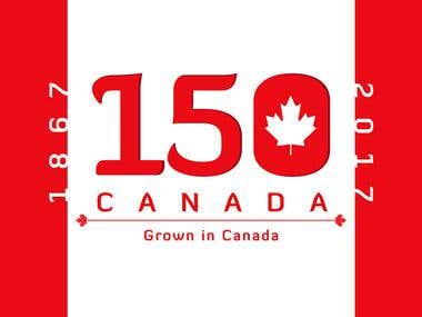 Canada's 150th Birthday | Sticker Design
