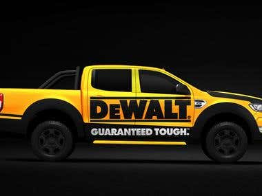 Ford Rangers | Vehicle Wrapping | Vehicel Graphics