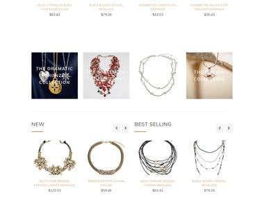 Fashina E-commerce Website