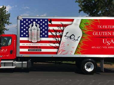 Truck decal | vehicle wrap