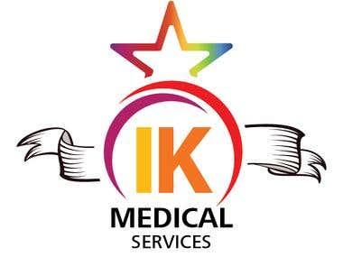 IK Medical Services Logo