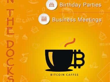Bitcoin Caffee Banner