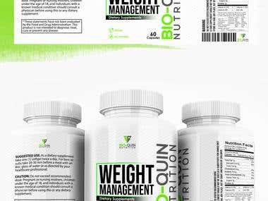 Elegant Supplement label
