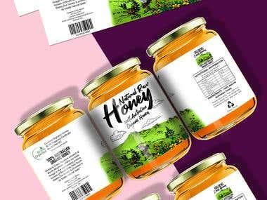 Honey Label Drawing