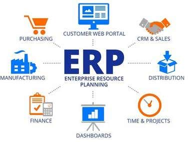 ERP - Accounting and Stock Maintenance