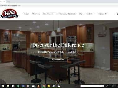 Website Customization & Retrieval of Hacked Website