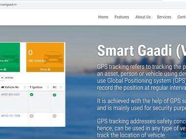 Web based GPS tracking