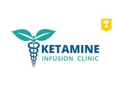 Ketamine infusion Clinic Logo