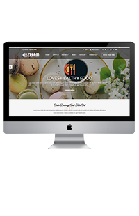 RM RESTAURANT (FOODIE WEBSITE)
