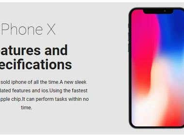 Article about iphone X