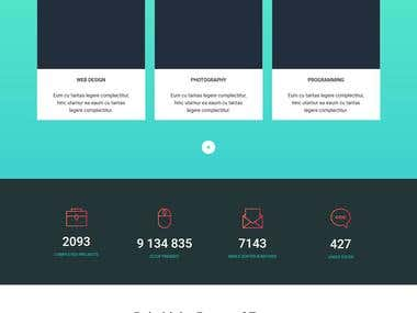 zoom PSD -> BOOTSTRAP