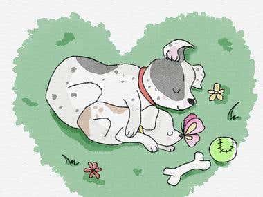 Personalized Pet Illustration