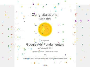 Google Ads fundamental