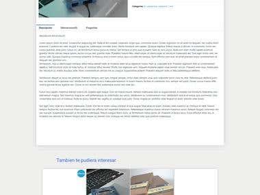 Wordpress Ecommerce platform 593express.com