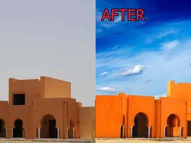 Photoshop examples