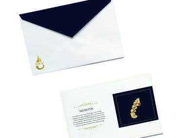 Dev jewellery - luxurious branding