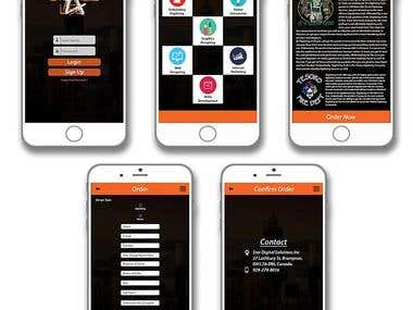 Mobile App & Web Designs