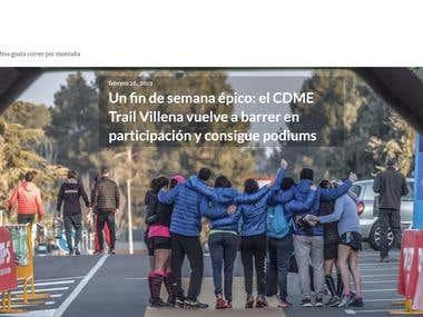 C.D.M.E Trail Villena.