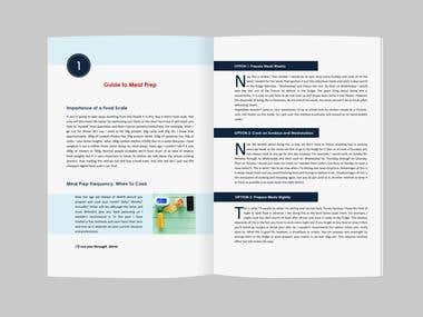 Ebook layout design