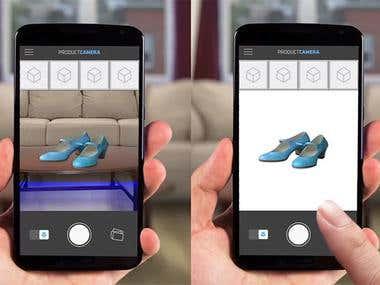 Camera Native Android App