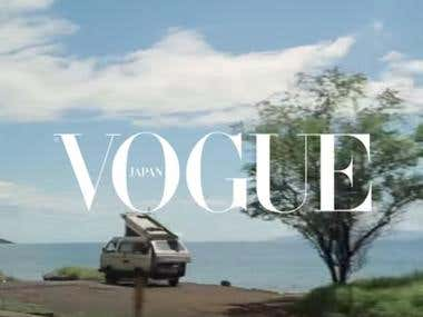 """Vogue Japan Website """"Meet with Locals"""""""