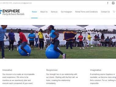 Event Management Site using WooCommerce