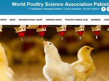 Poultry Farming Website Portal