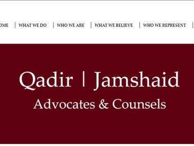 Law Firm Portfolio Listing