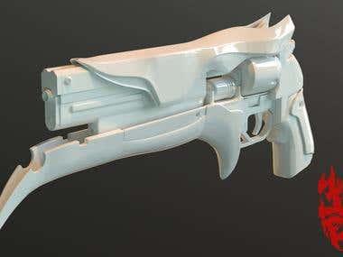 Futuristic weapon