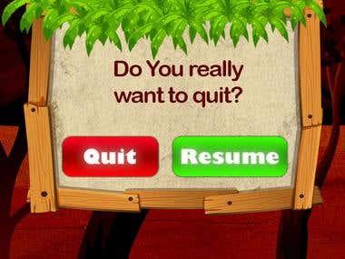 Quiz game development