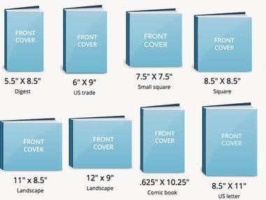 E book Cover designs
