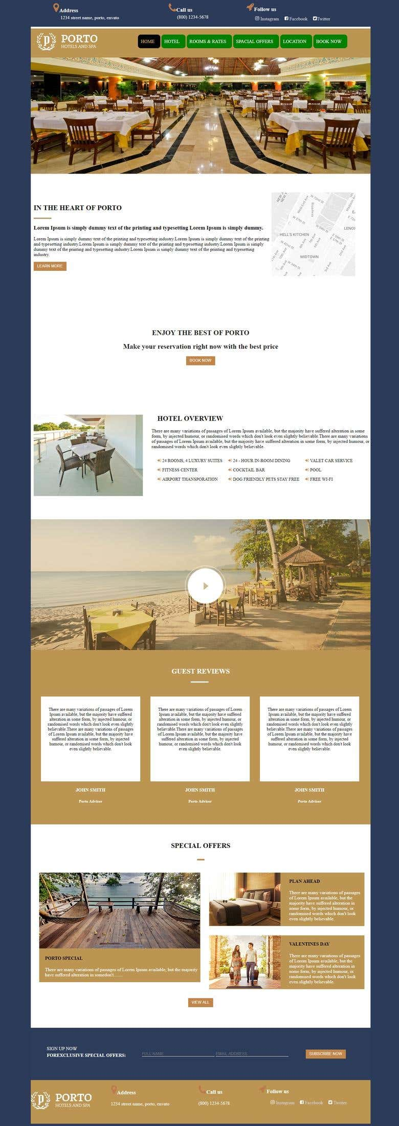 Responsive HTML Template | Freelancer