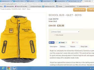 School Bus Waistcoat by Ceremony £26.99