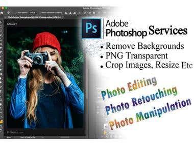 Photoshop, Photo Retouching/Editing/Manipulation