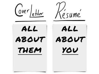 Cover Letter / Resume Writing