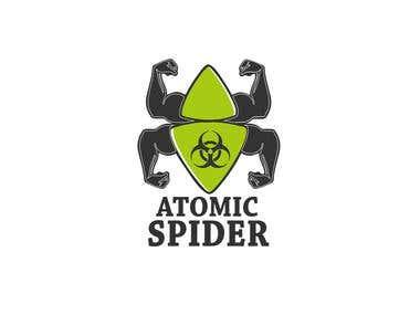 ATOMIC SPIDER LOGO