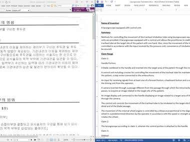 Medical Translation 5000+ Words (Korean to English)