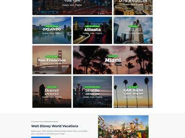 Booking (hotels,Cars, Flights & Cruises) Website development