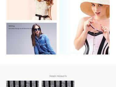 Rama Textiles Shopping cart website