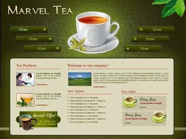 Marvel Tea