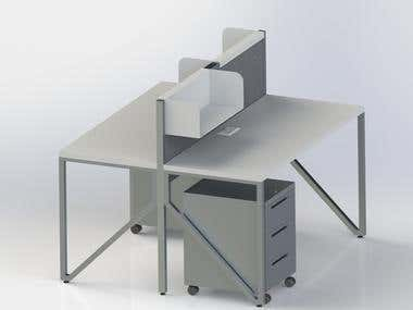 Furniture design by using Solidworks