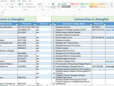 Virtual Assistant in China (Online Research)
