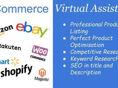 E-Commerce Virtual assistant