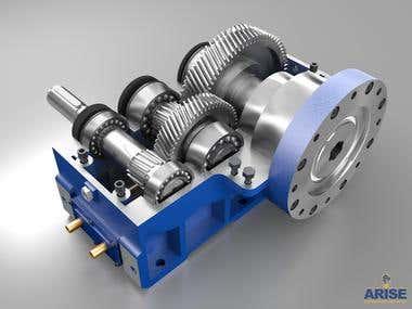 Mechanical Renders