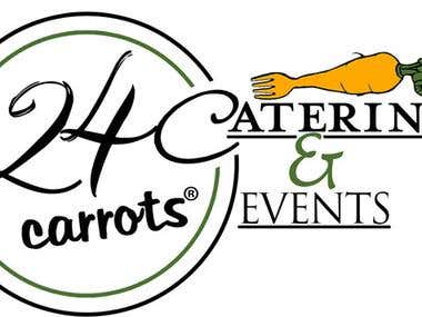Logo for 24carrots Catering & Events