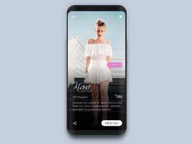 Fashion Customisation App