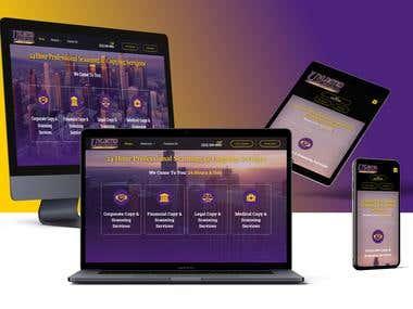 Business Website (Copy Services)